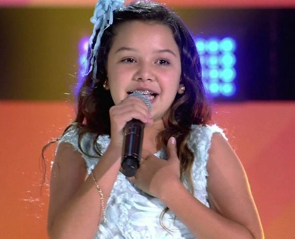 Paraibana no The Voice Kids 2019