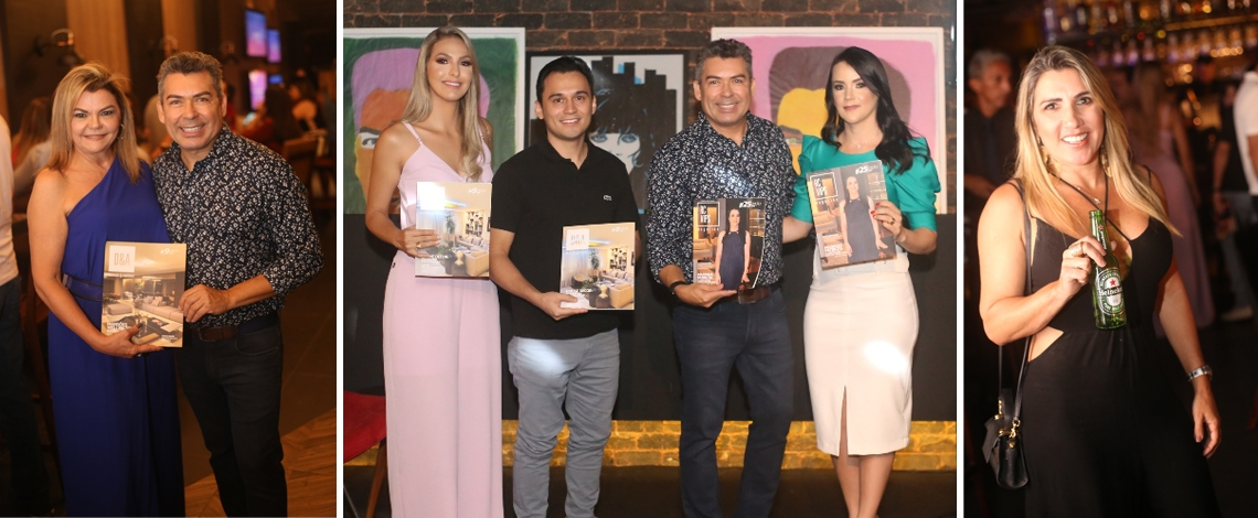 IT SUNSET INAUGURA LOUNGE CHANDON E LANÇA NOVAS EDIÇÕES DA RCVIPS MAGAZINE E D&A